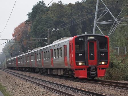 813系 鹿児島本線天拝山~原田02
