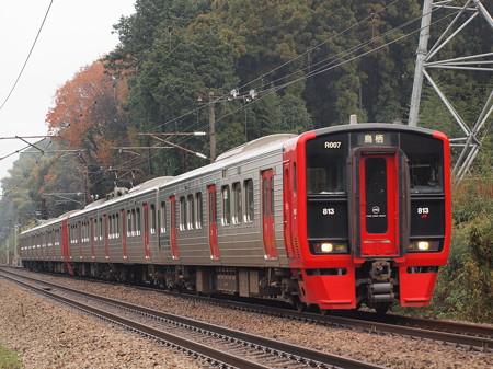 813系 鹿児島本線天拝山~原田04