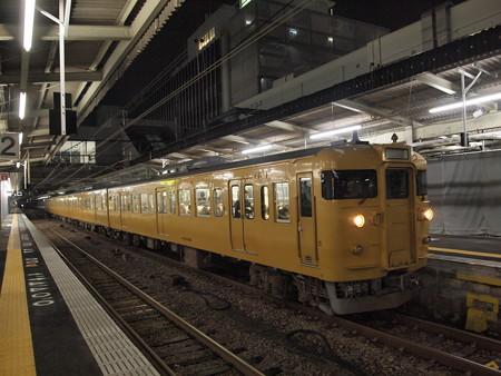 115系末期色普通 山陽本線広島駅02