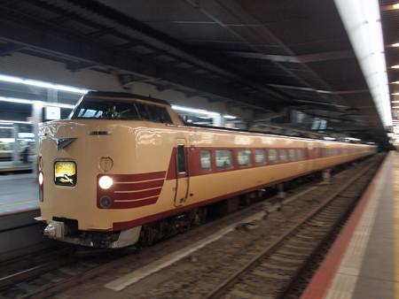381系特急こうのとり 東海道本線大阪駅04