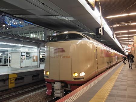 285系サンライズ出雲 東海道本線大阪駅05