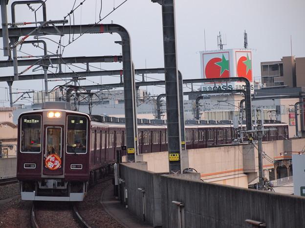 阪急8000系普通 阪急宝塚線豊中駅