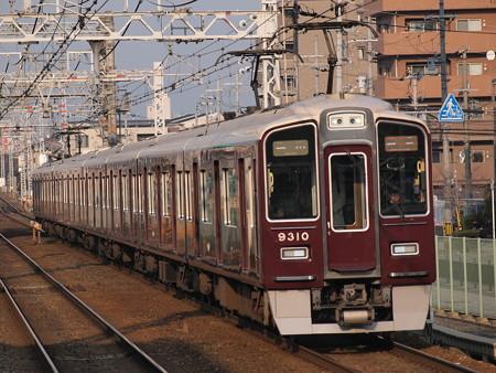 阪急9300系特急  阪急京都線南茨木駅02