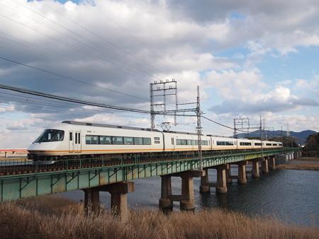 近鉄21000系名伊特急 山田線宮町~小俣03