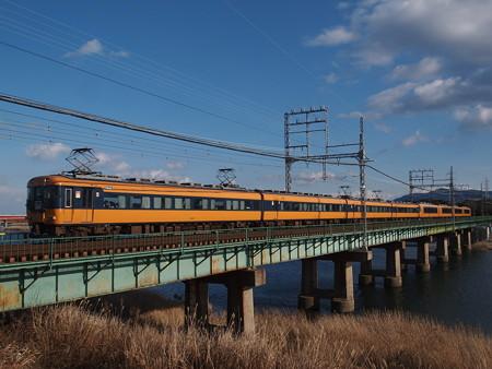 近鉄12200系特急 山田線宮町~小俣02