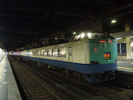 485系特急北越    北陸本線金沢駅01