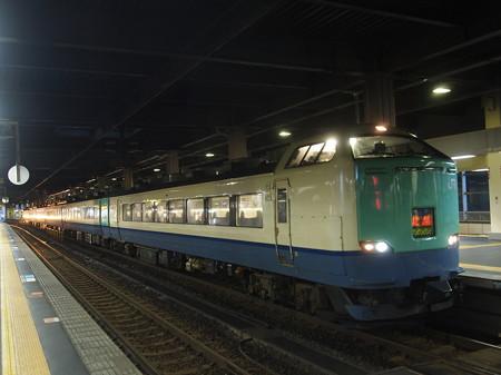 485系特急北越    北陸本線金沢駅03