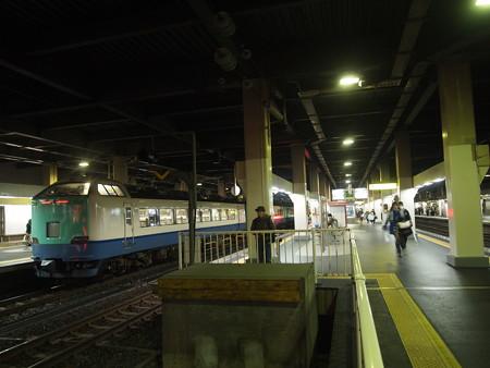 485系特急北越    北陸本線金沢駅04