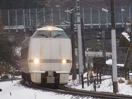 683系特急しらさぎ 北陸本線津幡~倶利伽羅01