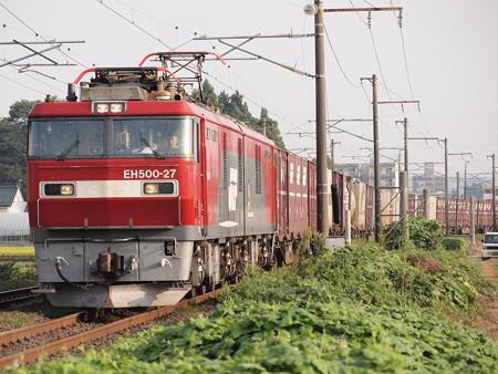 EH500貨物 東北本線名取~南仙台