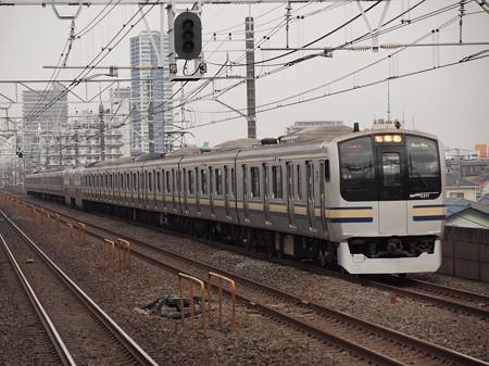 E217系 総武本線下総中山駅