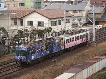 京阪600形中二病 京阪石山坂本線近江神宮~皇子山