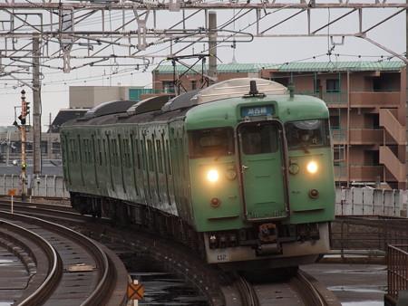 113系普通  湖西線大津京駅02