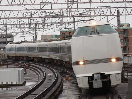 683系特急サンダーバード  湖西線大津京駅01