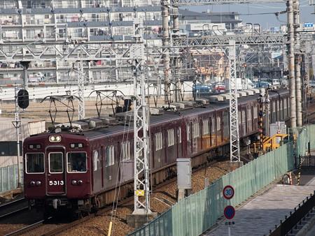 阪急5300系普通 阪急京都線茨木市~南茨木