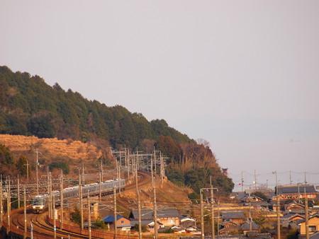 223系新快速 湖西線近江高島~北小松05
