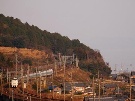 683系特急サンダーバード  湖西線近江高島~北小松04