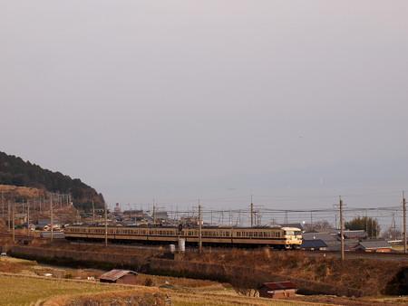 117系普通   湖西線近江高島~北小松01