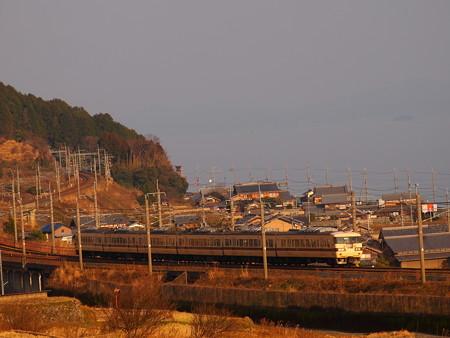 117系普通   湖西線近江高島~北小松02