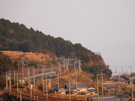 EF81 寝台特急トワイライトエクスプレス 湖西線近江高島~北小松01