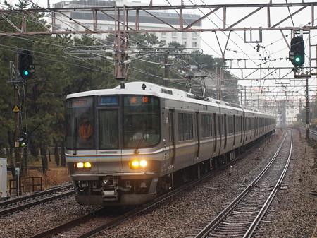 223系新快速   山陽本線舞子駅01