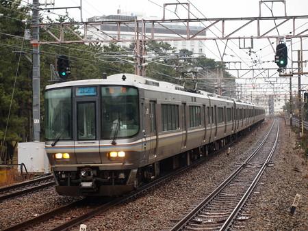 223系新快速   山陽本線舞子駅06