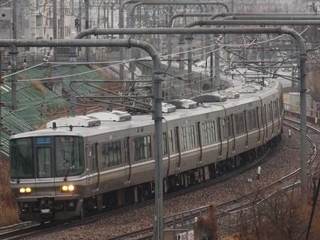 223系新快速 山陽本線新長田駅