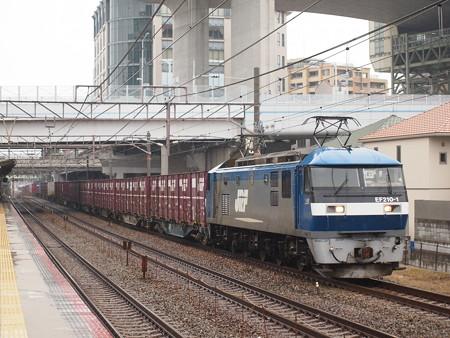 EF210貨物   山陽本線舞子駅03