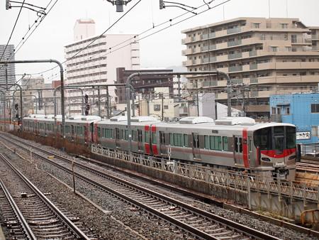 227系甲種輸送 山陽本線新長田駅