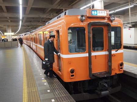 近鉄6020系ラビットカー普通 近鉄南大阪線阿部野橋04