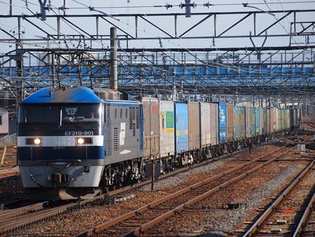 EF210貨物 東海道本線草津駅