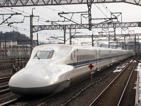 N700系のぞみ 東海道新幹線米原駅01