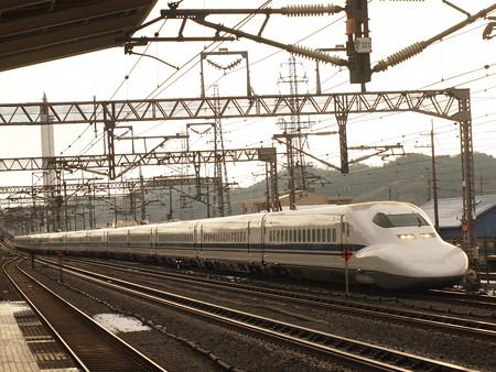 700系こだま 東海道新幹線米原駅01