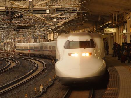 700系こだま 東海道新幹線米原駅02