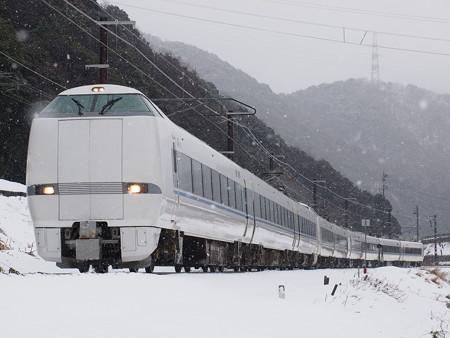 683系特急サンダーバード 北陸本線新疋田~敦賀01