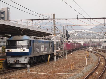 EF210貨物 東海道本線京都駅