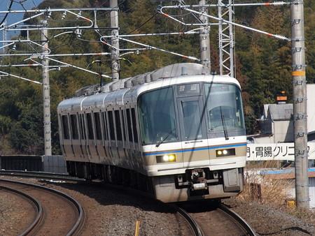 221系普通 湖西線小野駅
