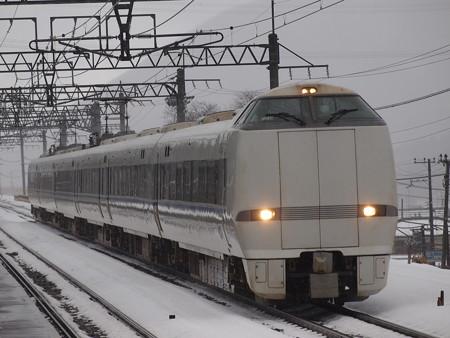 681系特急サンダーバード 湖西線近江塩津駅