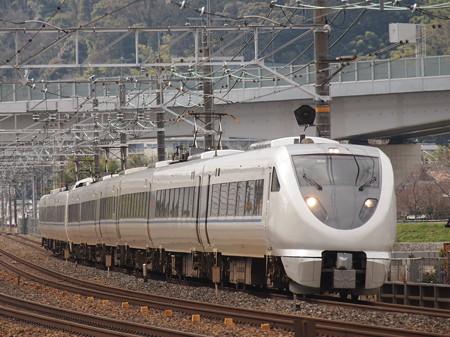 683系回送 東海道本線山崎~長岡京