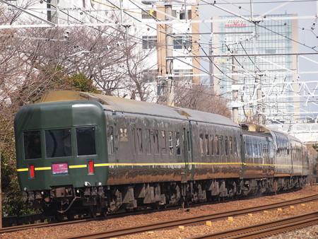 24系トワイライトエクスプレス 東海道本線山崎~長岡京
