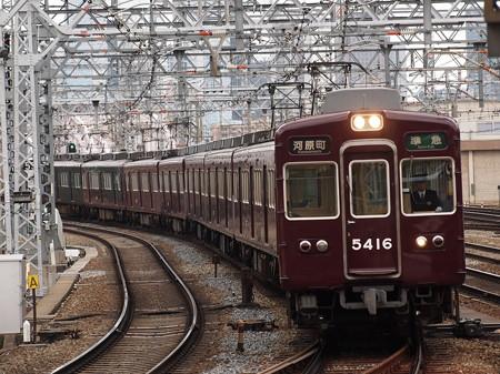 阪急5300系準急 阪急京都線十三駅