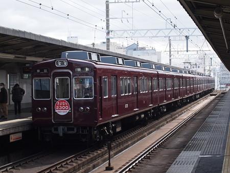阪急2300系普通 阪急京都線上新庄駅02