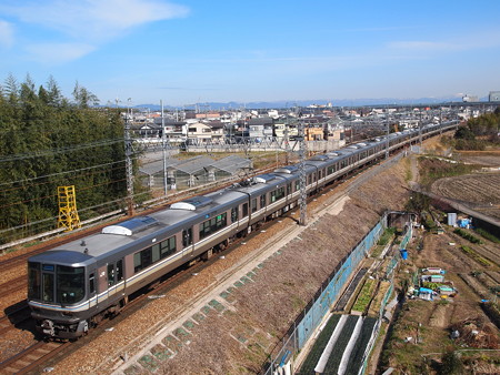 223系新快速東海道本線長岡京~山崎01