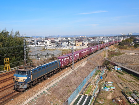 EF66貨物 東海道本線長岡京~山崎01