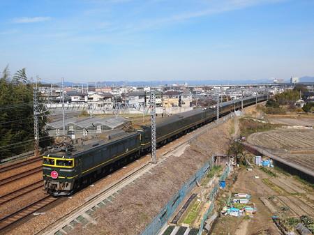 EF81 寝台特急トワイライトエクスプレス 東海道本線長岡京~山崎