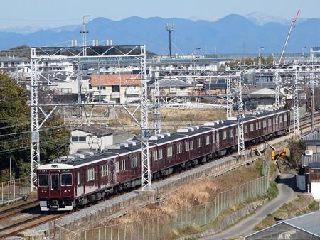 阪急7300系堺筋準急 阪急京都線西山天王山~大山崎