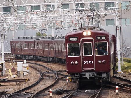 阪急5300系普通  阪急京都線梅田駅01