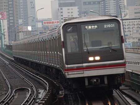 大阪市営地下鉄20系 御堂筋線西中島南方駅03