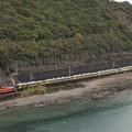 写真: DD51 サロンカーなにわ 紀勢本線紀伊浦上~下里19