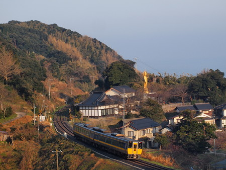 キハ187系スーパーまつかぜ 山陰本線泊~青谷01